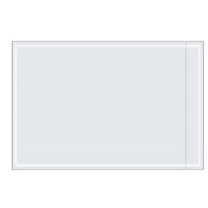 "Clear Packing List Envelopes – 6"" x 9"" – 1000pk"