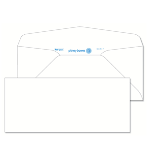Pitney Bowes® Envelopes #10 Gummed White 24lb