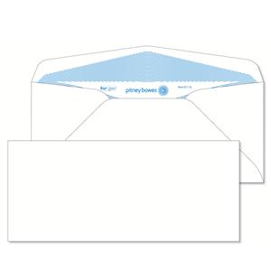 Pitney Bowes® Envelopes #10 Gummed White 24lb Security Tint