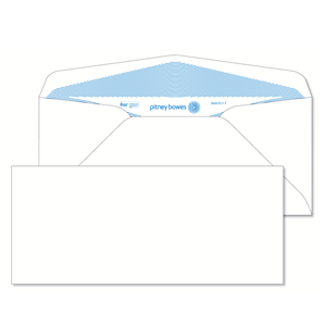 Pitney Bowes® Envelopes #9 Gummed White 24lb Security Tint