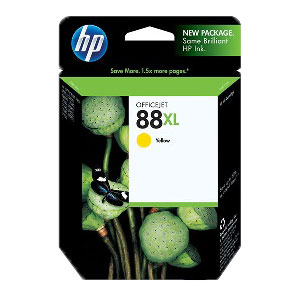 HP C9393AN High Yield Yellow Ink Cartridge