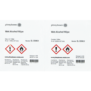 Image for Wet Alcohol Wipes - Pack Of 50; item number SL-CKW01