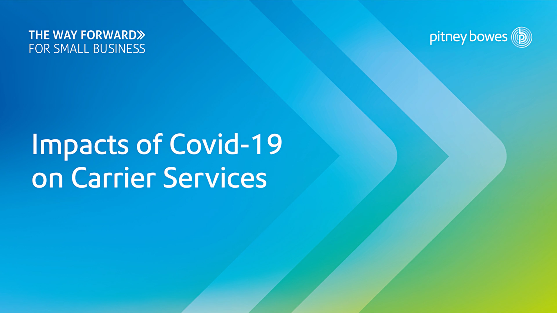 Impacts of Covid-19 on carrier services