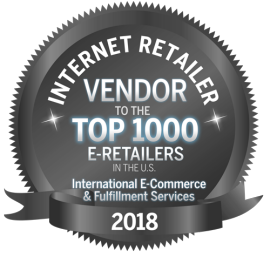 Pitney Bowes is ranked #1 International Ecommerce & Fulfillment Technology provider by Internet Retailer.