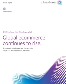 2016 Pitney Bowes Global Shopping Study